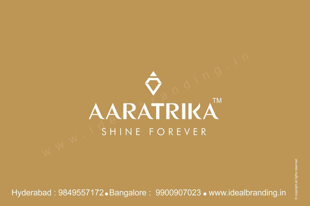 Best Jewellery Advertisement Designs, jewellery store logo branding india - aaratrika2