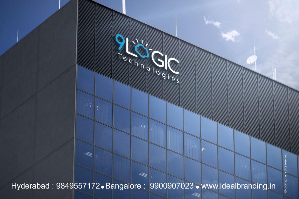 Branding, Software Development Company branding india - 9 logic5, Cloud computing company branding india9 logic IT Infrastructure branding hyderabad - 9 logic4