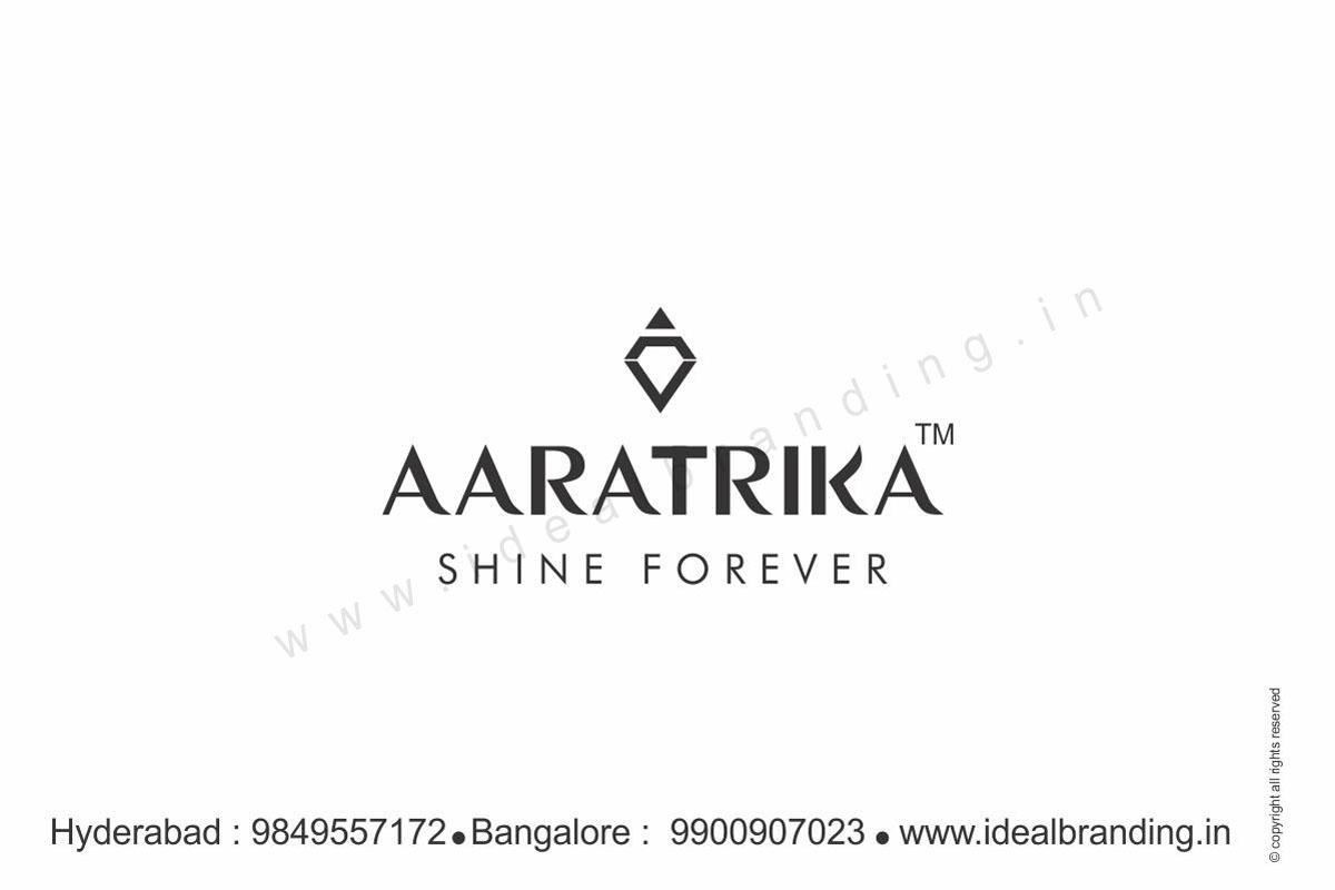 Jewelry Logos - Logo Design Company India - aaratrika