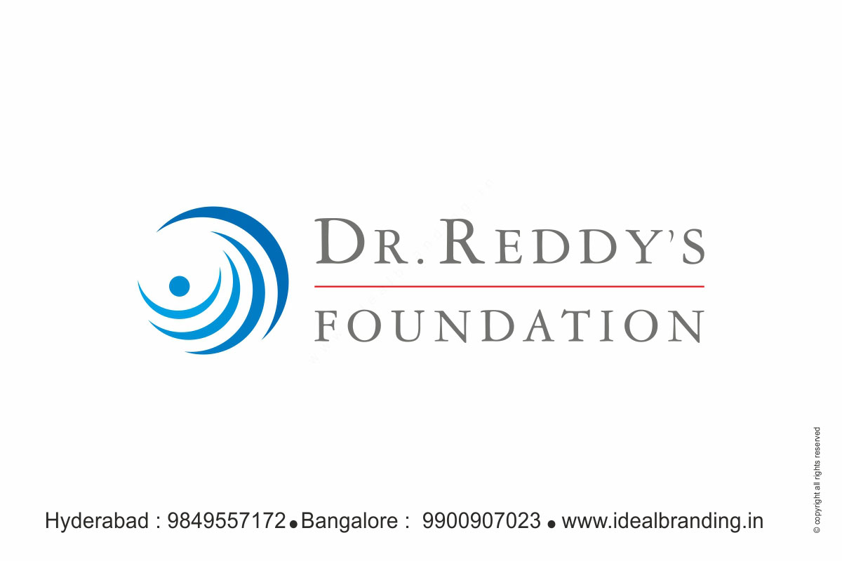 Dr  Reddy's Foundation Logo Design Hyderabad, India - Ideal Branding