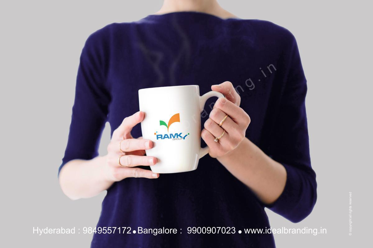 group infra logo design hyderbad construction branding india -Ramky12