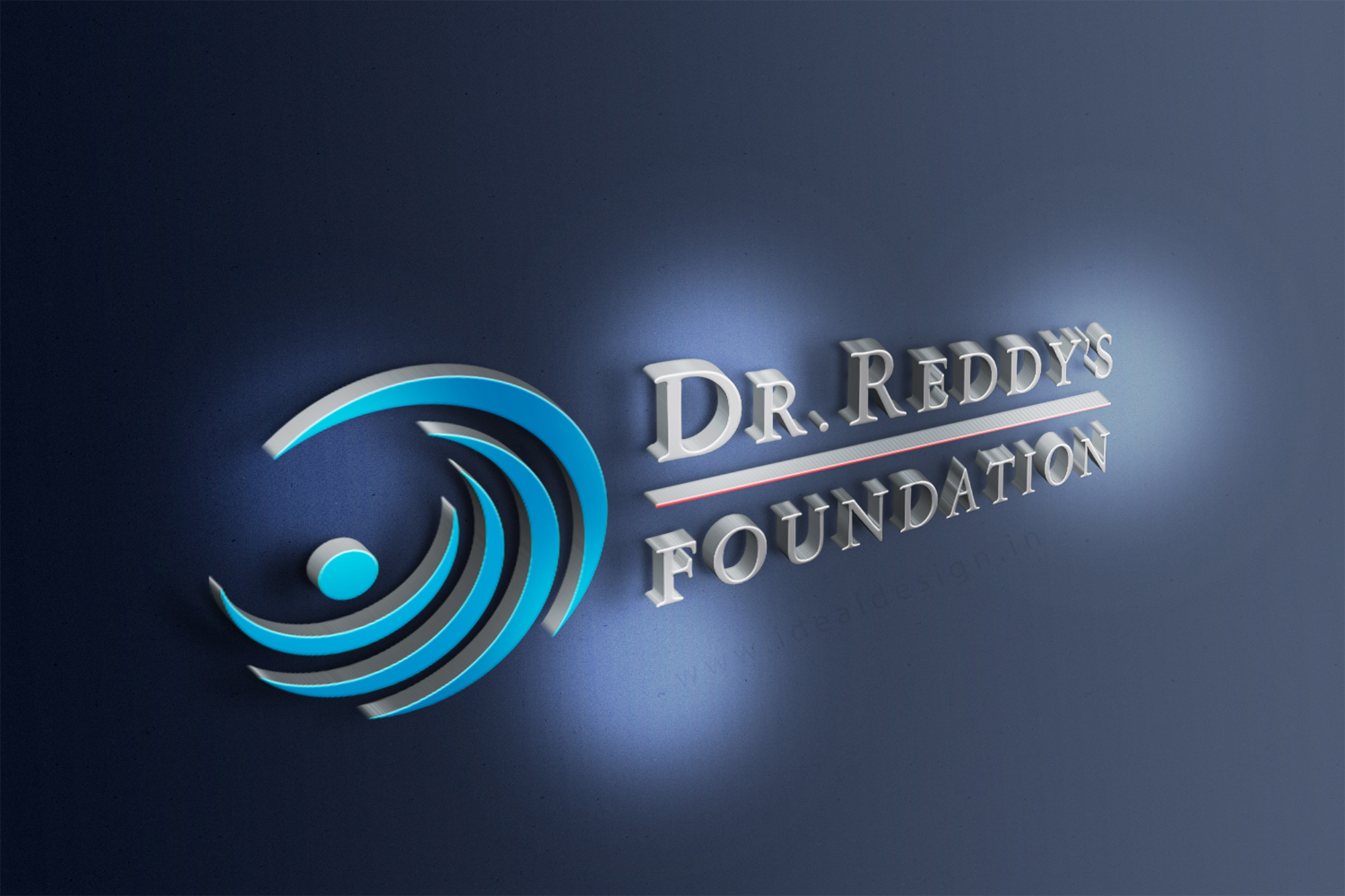 Dr  Reddy's Foundation Logo Design Hyderabad, India - Ideal