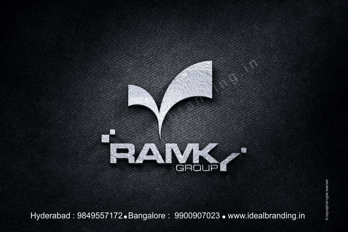 ramky group infra company branding, startup branding logo design hyderbad construction branding india - Ramky, corporate company branding