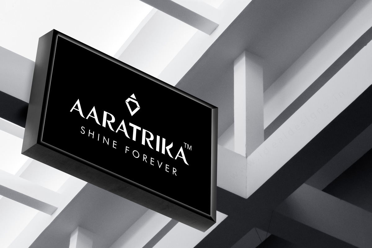 aaratrika-logo-design-hyderaba,-jewllery-logos-design,-showroom-logo-designs,-pearls-&-gems-corporate-business-card-designs