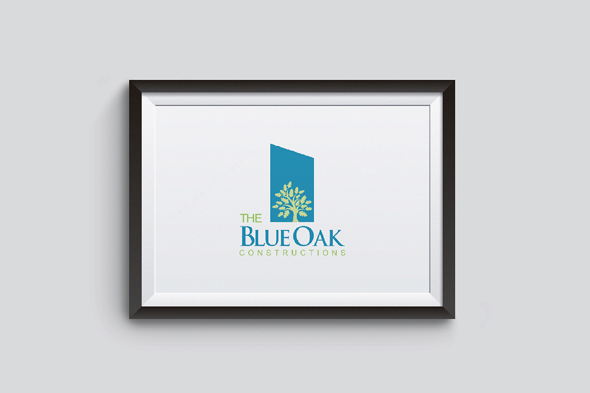 real-estate-logo-design-india,-blue-oak-corporate-stationery-design-hyderabad,-india