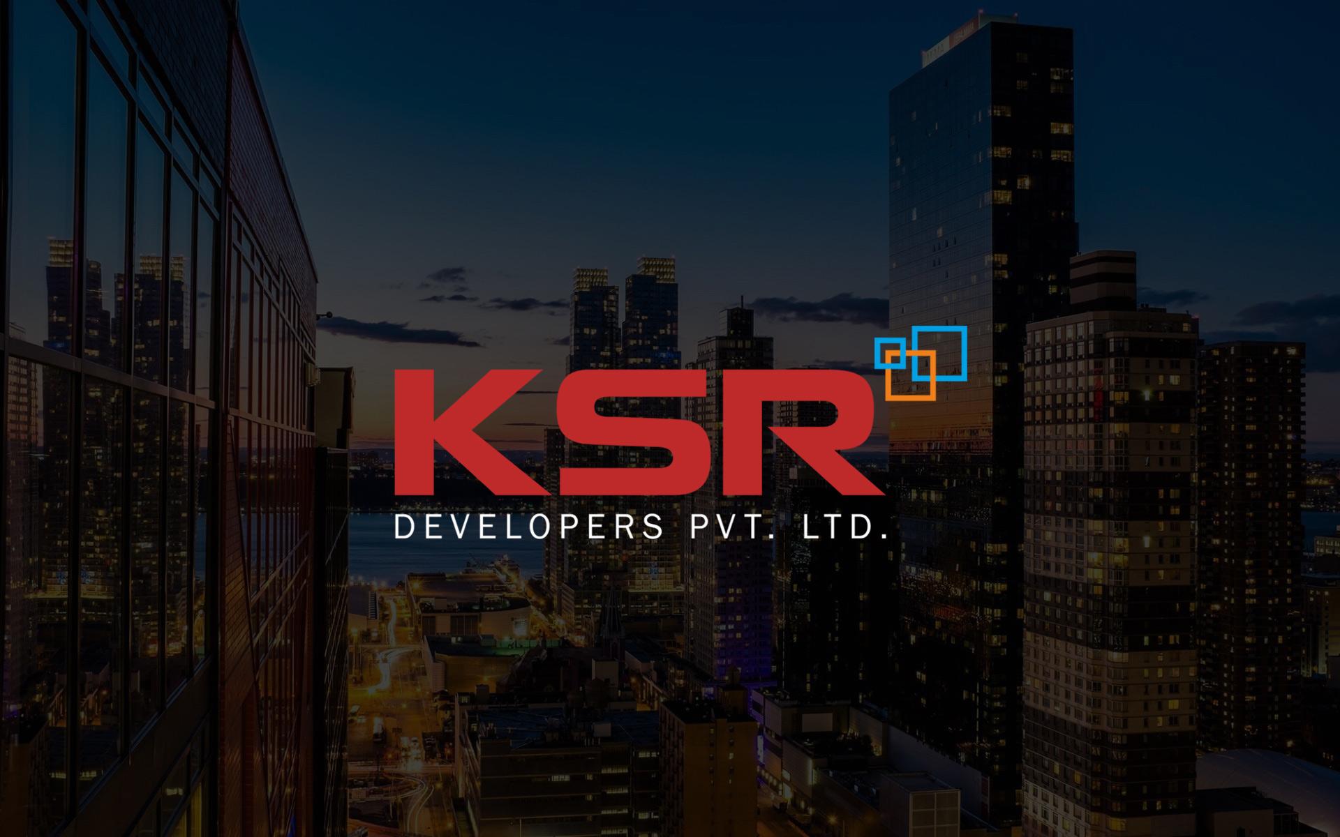 ksr-developers-construction-company-logo-branding-hyderabad
