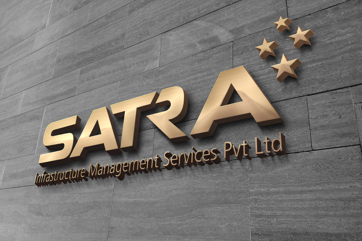 Infra management logo design Hyderabad, management services logo design india, logo branding, brand naming, brand building india